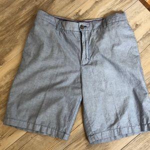 Men's chambray Izod Shorts size 34